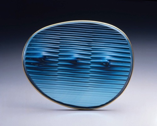 14. Aqua Series Brooch